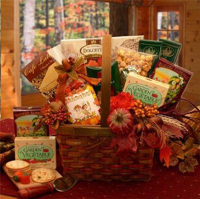 Send a fall snacks gift box