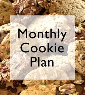 Cookie & brownie of the month - 3 Months
