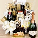 Wish them all the best with only the best available. Wine Baskets: Champagne gift basket delivery