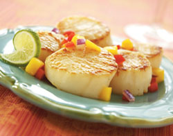 Our Sea Scallops are so incredibly large, plump and sweet, you'll quickly see why we fell in love with them!