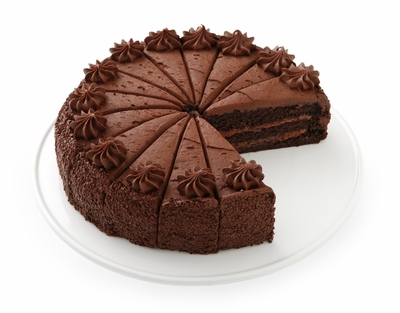 Triple Chocolate Cake. A chocolate lovers heaven!