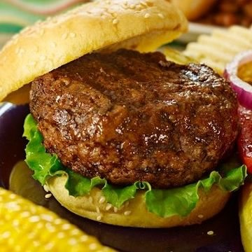 Mail order steak burgers
