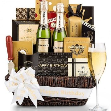 Birthday Wine Basket Delivery