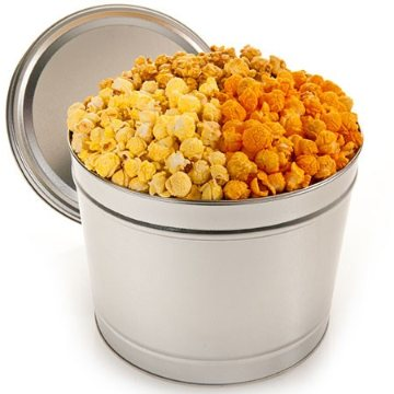 People's Choice Gourmet Popcorn Tin