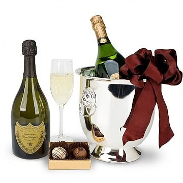 Champagne and Chocolate for Two