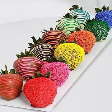 FTD� Pick Me Up� Rainbow Strawberries