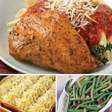 Italian chicken dinner shipped!