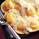 Maine Lobster Ravioli With White Wine Butter Sauce 