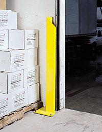 Loading Dock Equipment Door Track Protectors