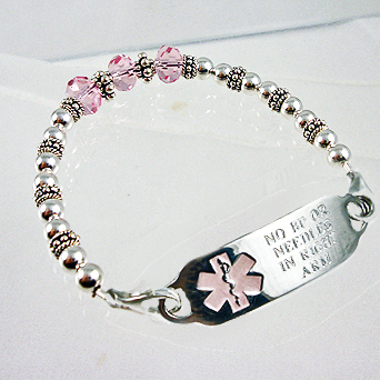 Medical Id Bracelets And Jewelry Custom Engraved For Men