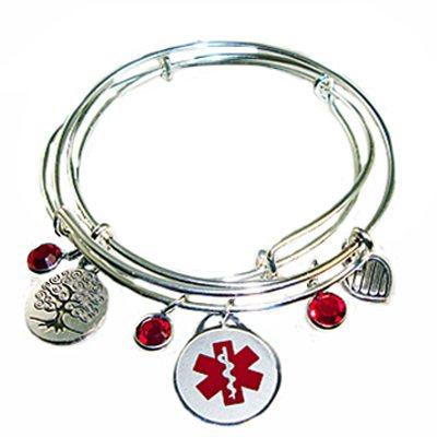 Medical Alert Bracelets And Stylish Jewelry Custom