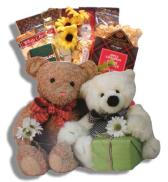 Bear Friends Gift Basket Alberta-Free Shipping