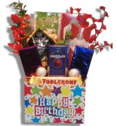 Happy Birthday Gift Basket Alberta