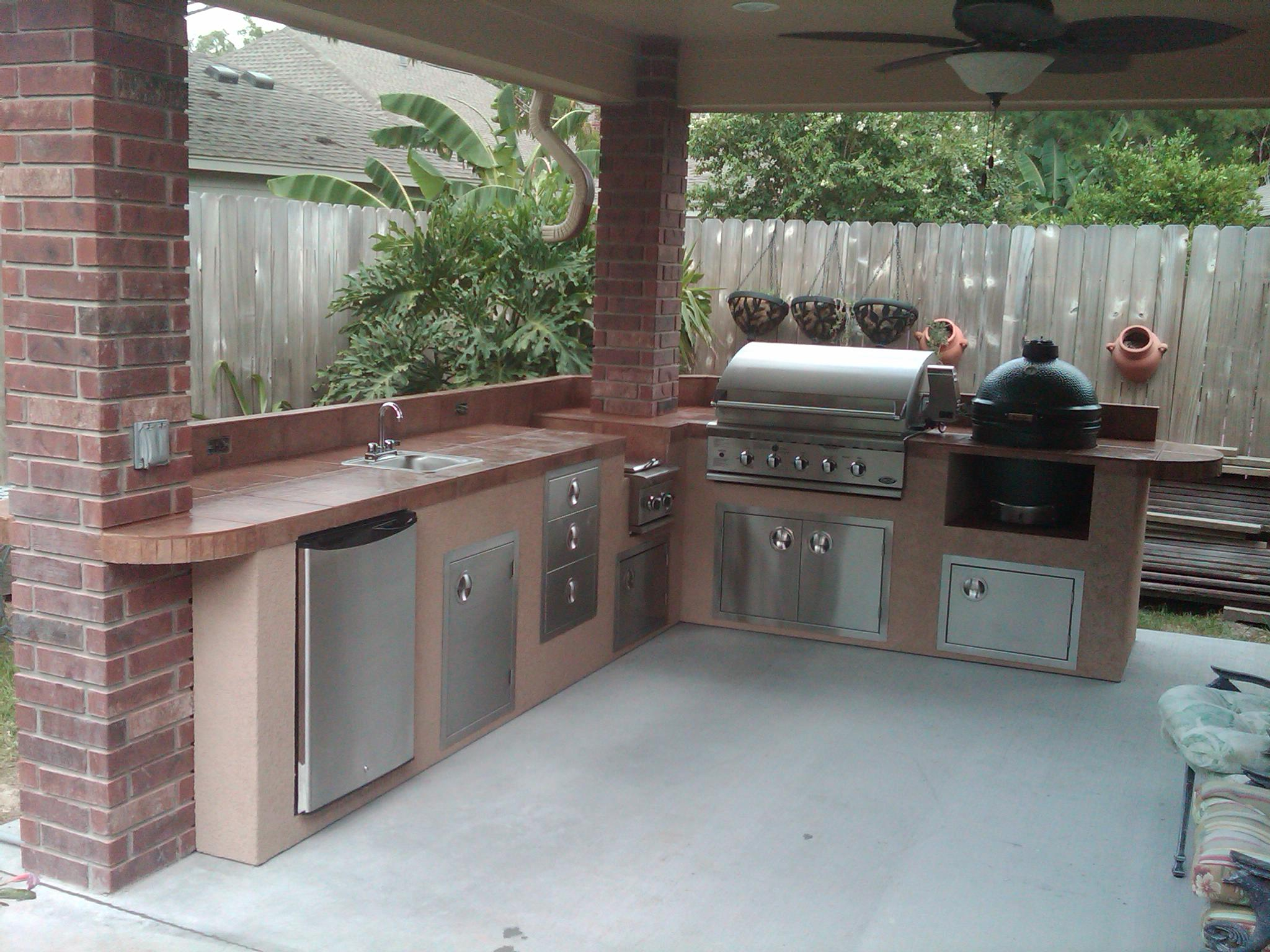 Outdoor Kitchens Houston Outdoor Kitchen Gas Grills