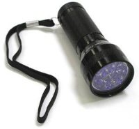 LED UV Flashlight With Holster