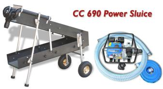 CC 690 Power Sluice Package