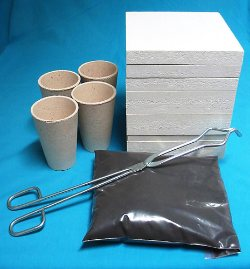 Base Microwave Gold Smelting Kiln and Kit