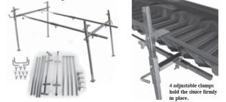 Le Trap Sluice Collapsible Stand