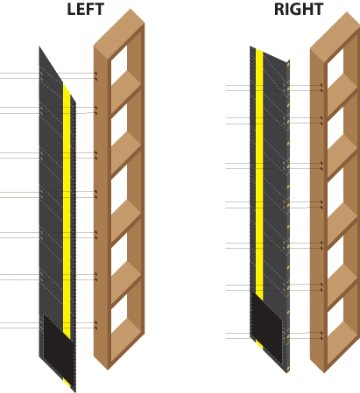 pairing truck shelter curtains to frames