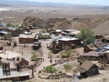 gold mining ghost town