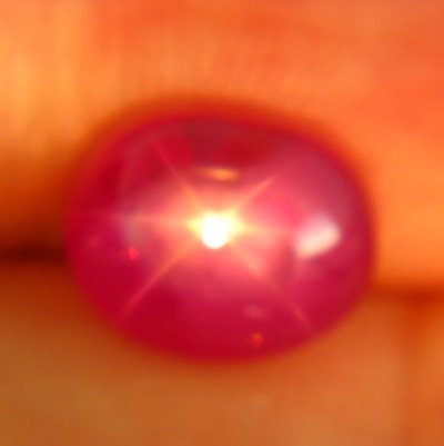 gemstone photo Mogok star ruby 3.14